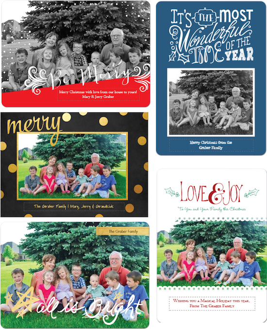 Staples Holiday Cards