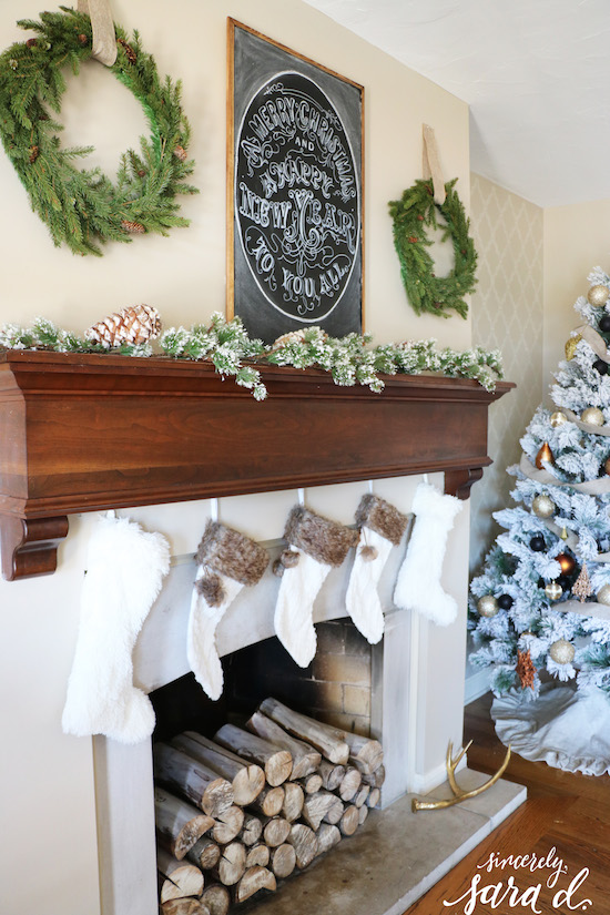 At Home Christmas Decor Ideas