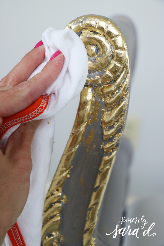 Buffing Gilding