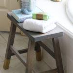 DIY Bathroom Stool