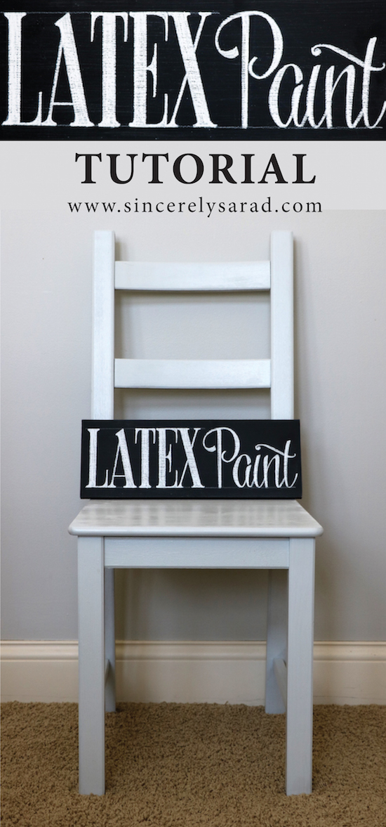Painting Furniture With Latex Paint Sincerely Sara D