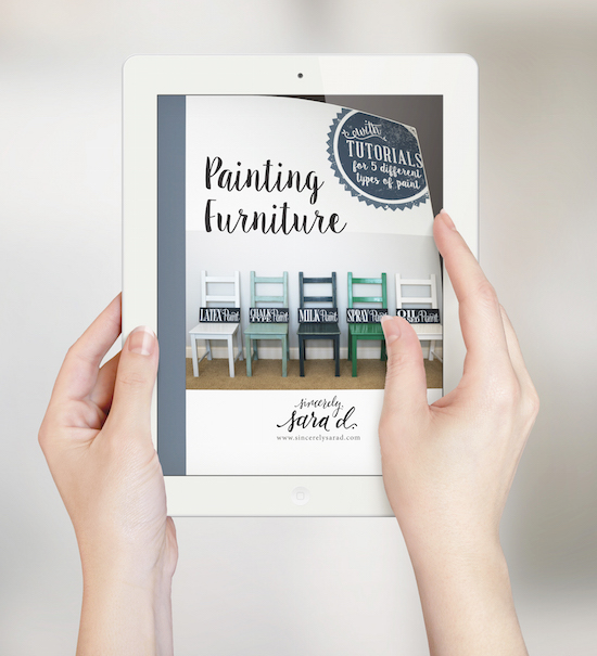 Painting Furniture Ebook Release