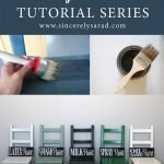 Painting Furniture Tutorial Series