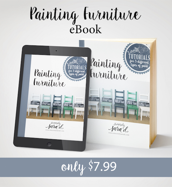 Painting Furniture eBook 7.99