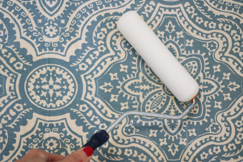 Temporary Wallpaper: Starched Fabric