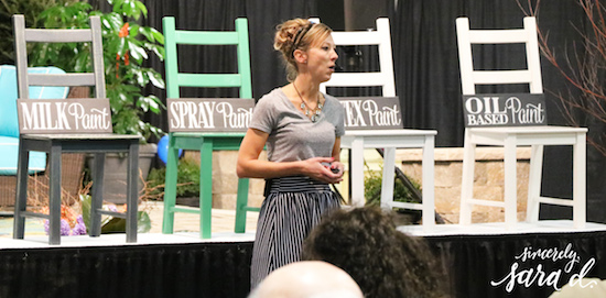 Speaking at the Indy Home Show