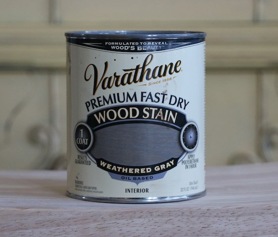 Varathane Weathered Gray