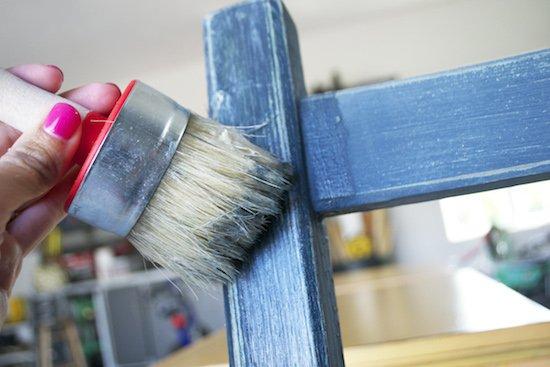 Waxing Milk Paint