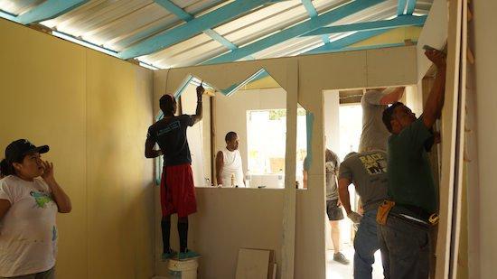 YWAM San Pedro House Build