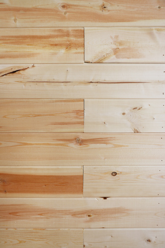 Shiplap Wall Seams