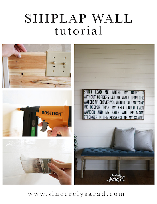 All You Need To Know About Shiplap Sincerely Sara D - Cost of shiplap vs sheetrock