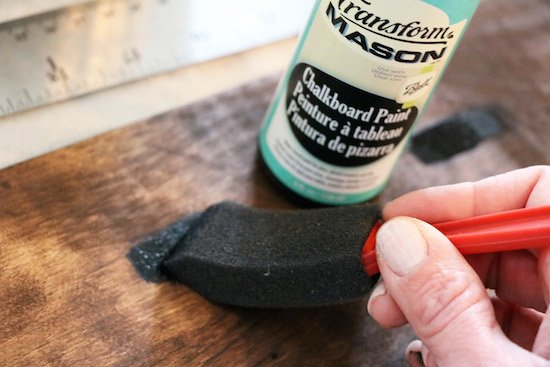 Adding Chalkboard Paint