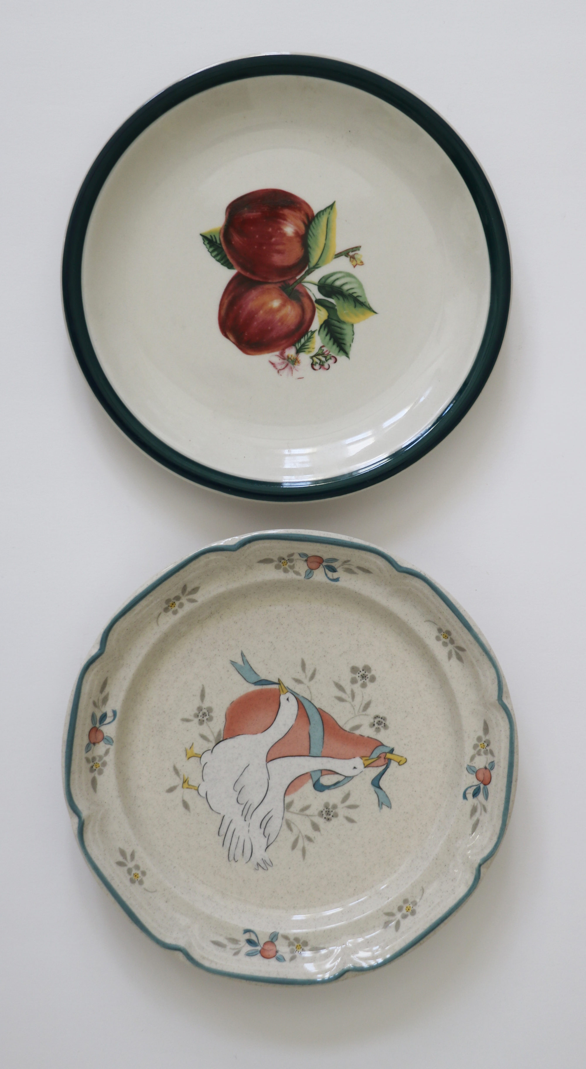Creative uses for old plates | Sincerely, Sara D.