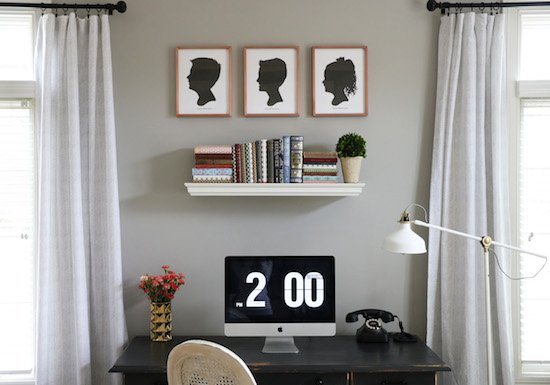 Custom Silhouettes by Minted