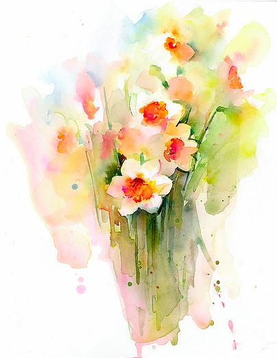 John Keeling Narcissus Bunch