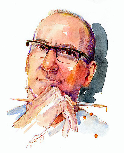 John Keeling Self Portrait