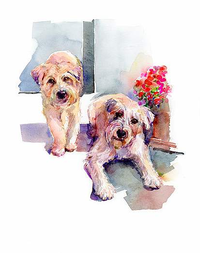 John Keeling Wheaton Terriers