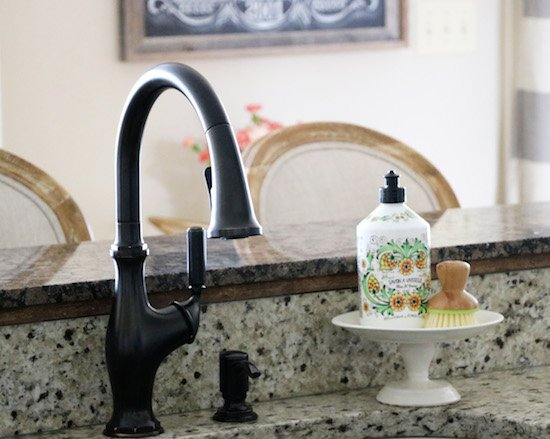 Kitchen Faucet Makeover