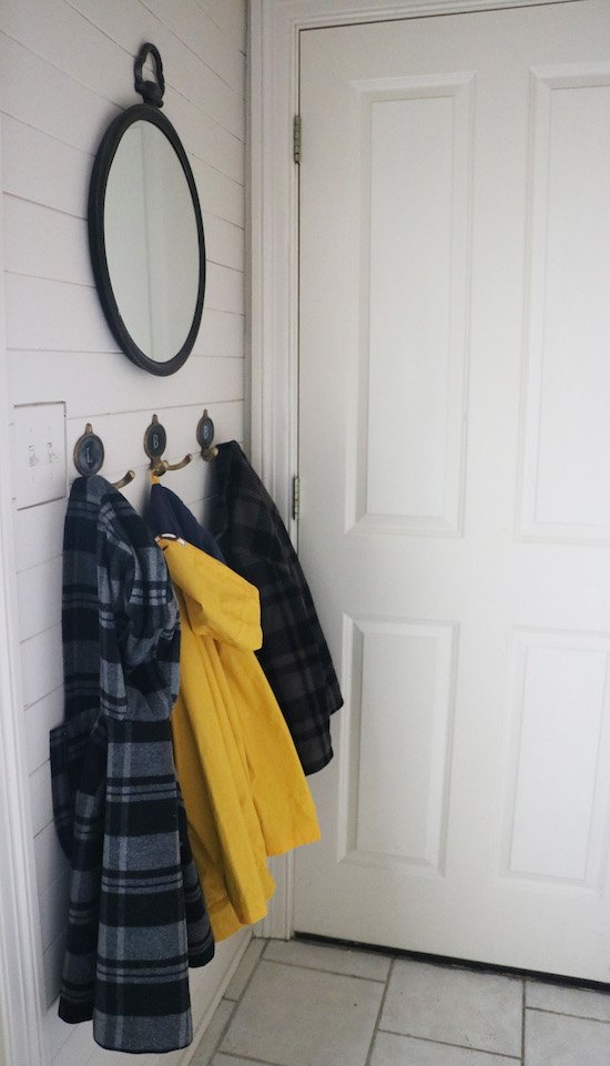 Simple Mudroom Solutions