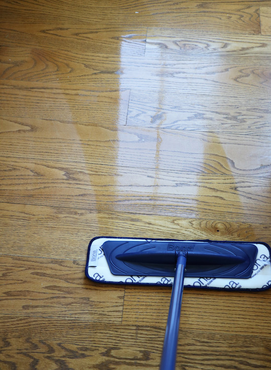 Using Bona to clean wood floors