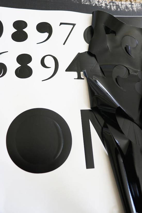 Using vinyl in silhouette machine