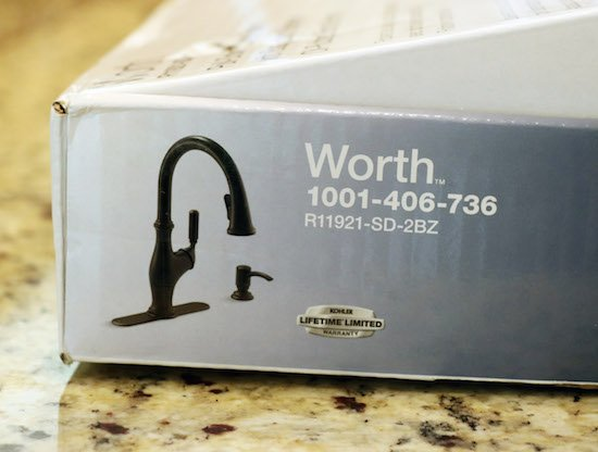 Worth Kitchen Faucet from Kohler
