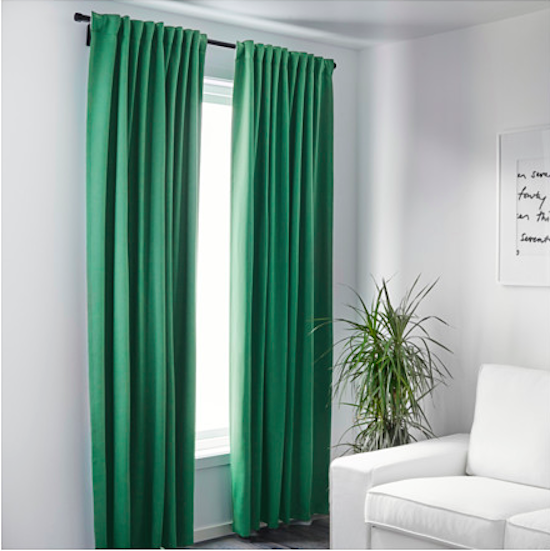 IKEA curtain panels