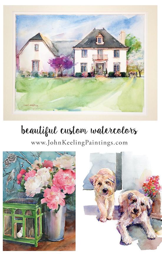 John Keeling Watercolors