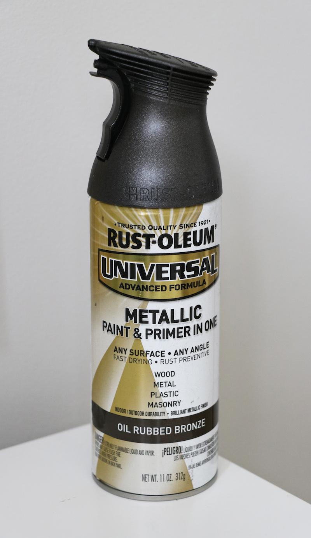 Rustoleum Oil Rubbed Bronze Spray Paint