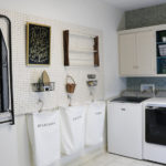 Using Peg Board in the Laundry Room