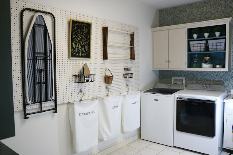 Using Peg Board in the Home
