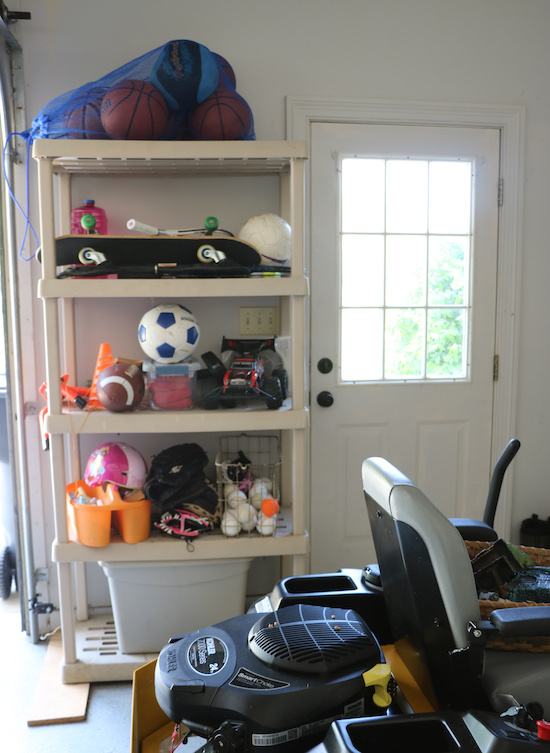 Organizing the Garage with Gladiator