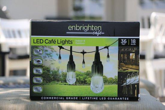 enbrighten cafe LED Cafe Lights