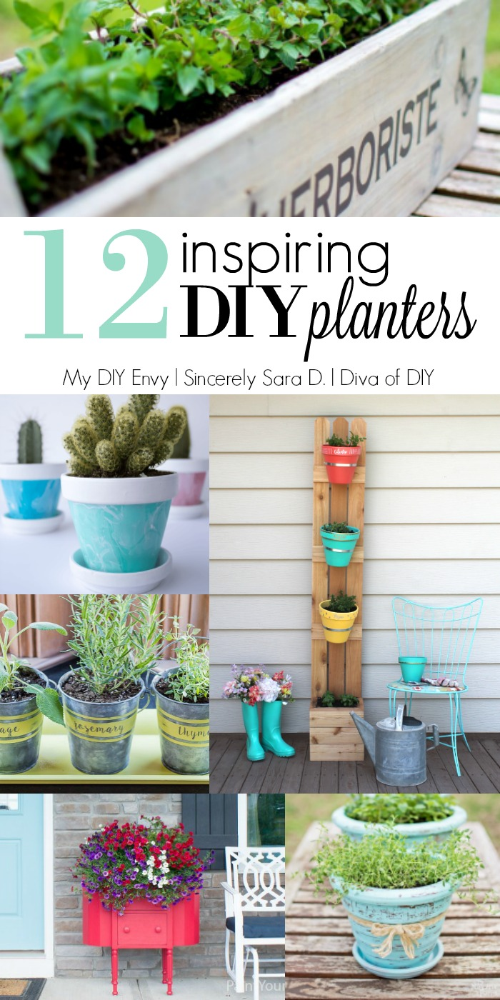 Talk to Me Link Party #4 & DIY Planters