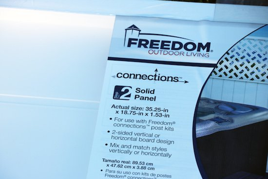 Freedom Connections Solid Panels