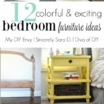 12 Fun DIY Bedroom Furniture Ideas & Talk DIY to Me Link Party #7