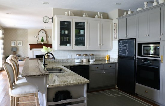 painting kitchen cabinets with homemade chalk paint repainting valspar painted