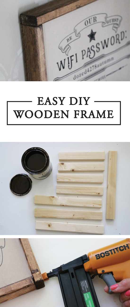 EASY DIY Wooden Frame