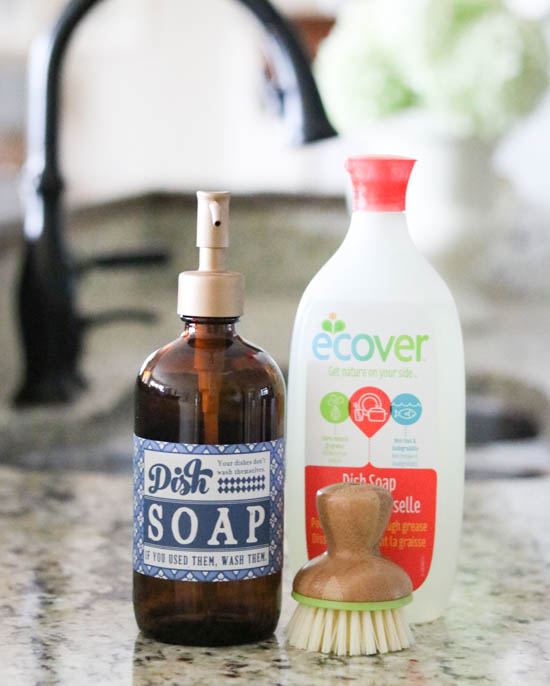 ecover Dish Soap works (1 of 1)