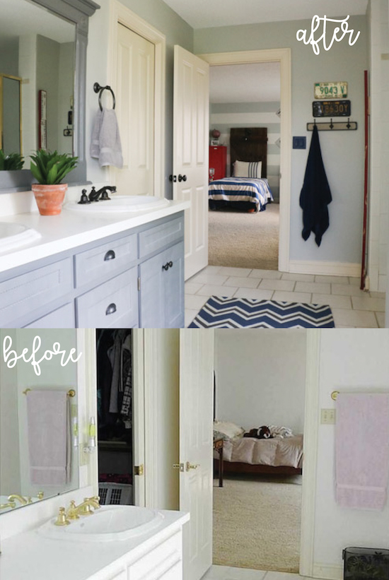 Transformation Tuesday: Boys' Bathroom