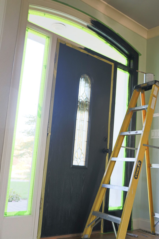Painting Black Trim (1 of 1)