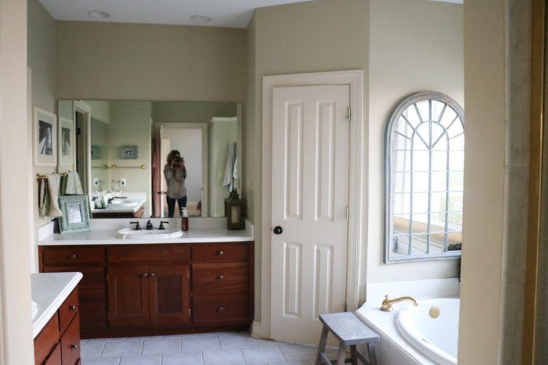 bathroom remodel reveal sincerely sara d. Black Bedroom Furniture Sets. Home Design Ideas