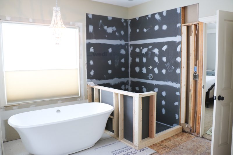 Master bath remodel week one sincerely sara d for Master bath remodel 2016