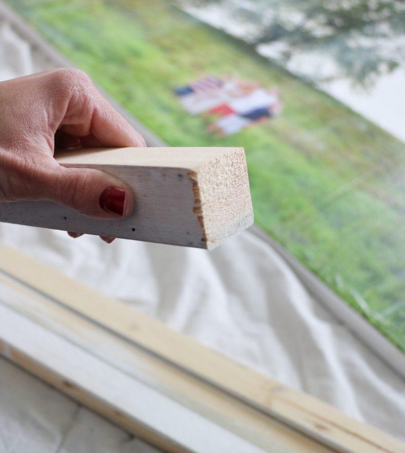DIY Large Photo Canvas - Sincerely, Sara D. | Home Decor ...