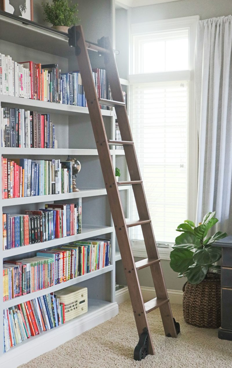 Rolling Library Ladder Custom Service Hardware