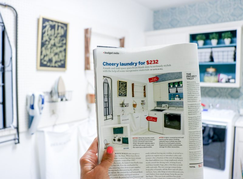 Inexpensive Laundry Room Makeover | This Old House Feature