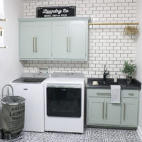 DIY Laundry Room Makeover