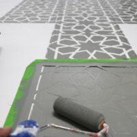 Painting Tile Floors