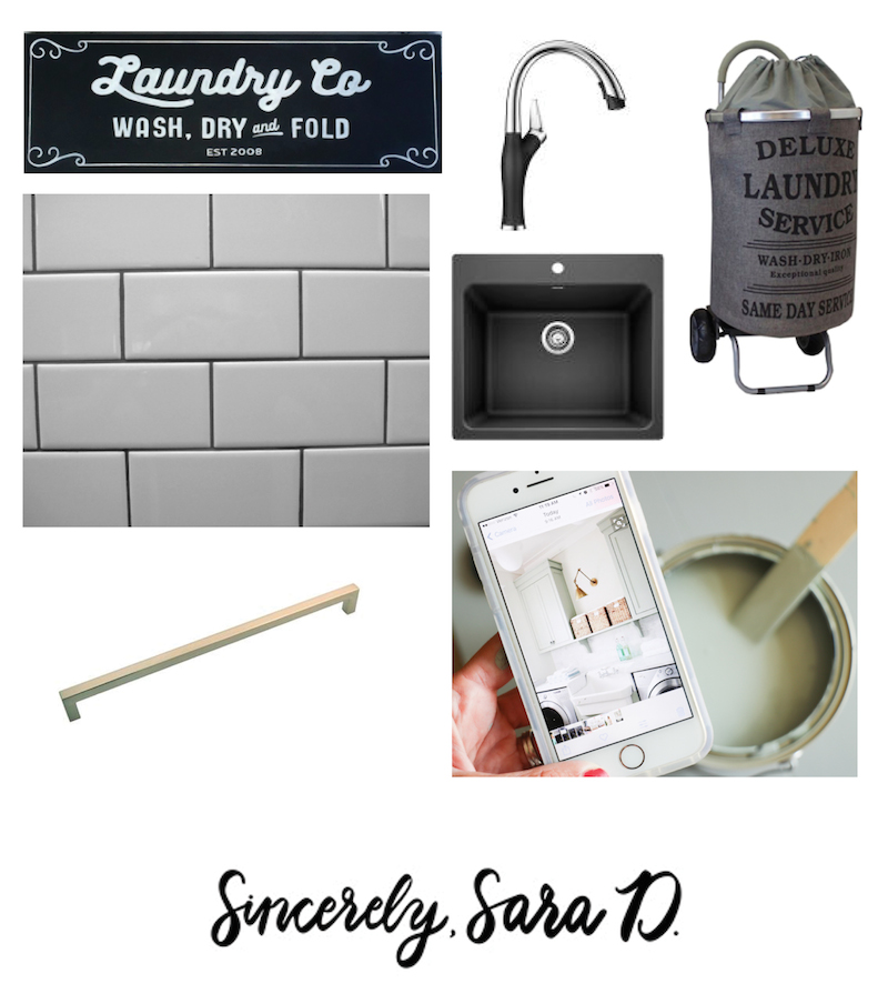 Laundry room makeover decor ideas
