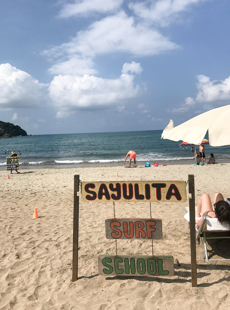 Trip to Mexico. Exploring the colorful and beautiful surf town of Sayulita.